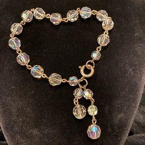 Vintage Aurora Borealis Bracelet